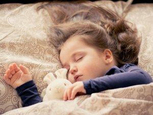 睡眠,ベッド,子ども