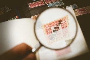 探す,切手