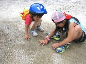 砂場,子ども