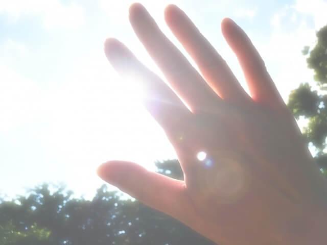 夏,日差し